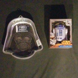 Star Wars Baking Lot Cake Pan Measuring Cups New
